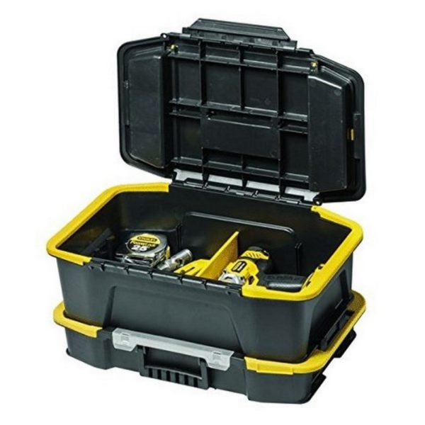 STANLEY STST1-71962-Conjunto de Toolbox with organizer Click N'Connect