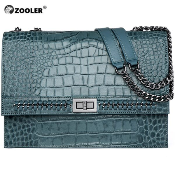 ZOOLER Luxury Brand Designer Genuine Leather Bags for women 2020 Cow Leather Woman Shoulder Bags Fashion Purses bolsa feminina 1