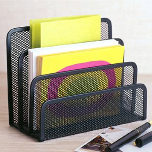 Metal Mesh Letter Sorter Document Tray