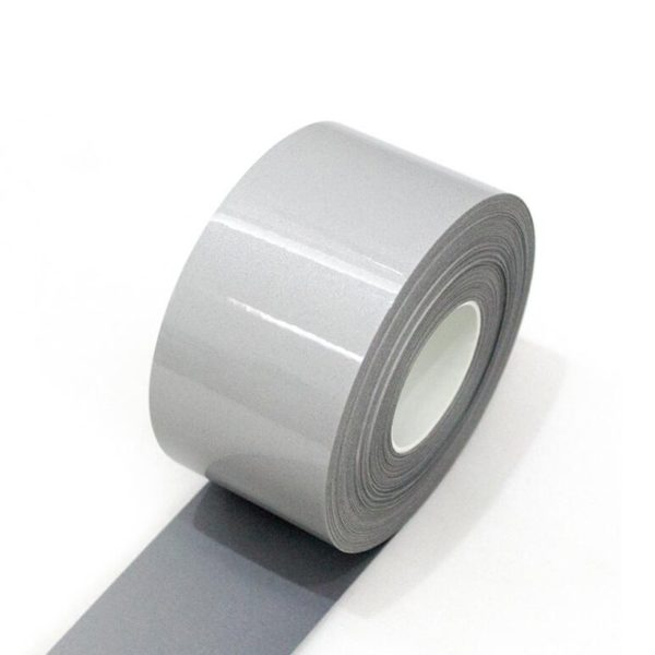 Safety Reflective Heat transfer Vinyl Film DIY Silver Iron on Reflective Tape For Clothing 4