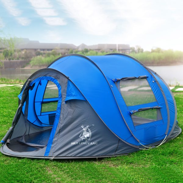 HUI LINGYANG throw tent outdoor automatic tents 1