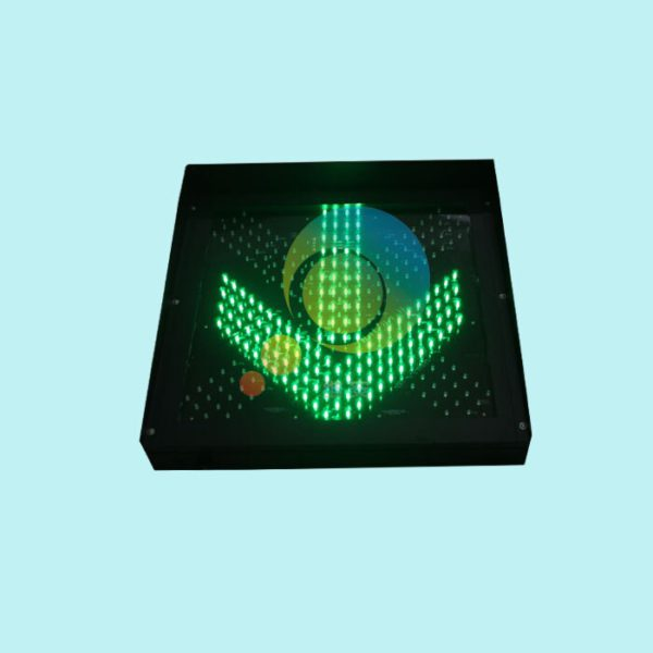 Easy installation high way toll station 600mm red green led traffic light for promotion 2