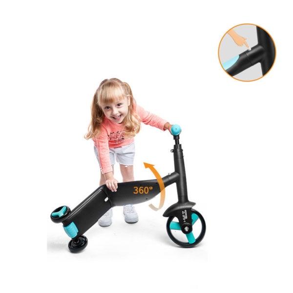 Nadle Children Scooter Tricycle Baby 3 In 1 Balance Bike Ride On Toys Kids Bike 1