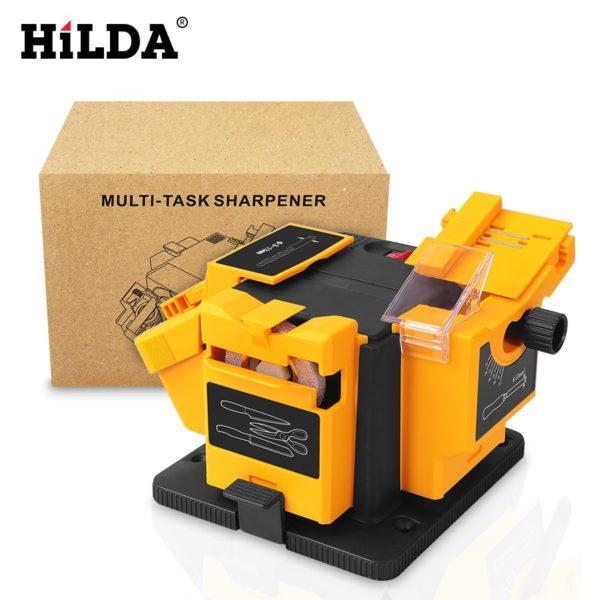 HILDA 96W 3in1 Multifunction sharpener Household Grinding Tool sharpener drill for knife Twist drill HSS drill scissor chisel 5