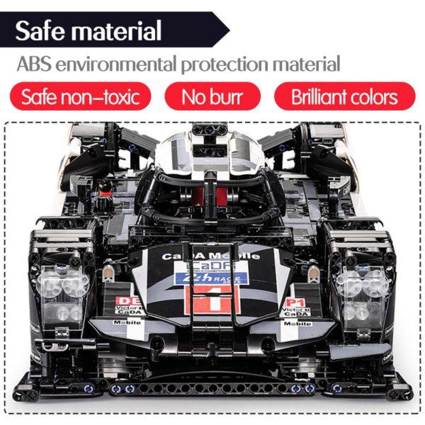 cada 1589PCS RC/non-RC Endurance racing Car Building Blocks For Technic MOC Model Remote Control vehicle Toys for kids 4