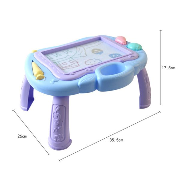 Multi-Function Big Size Magnetic Drawing Board Desk Toys Painting Doodle Games For Children Girls Educational Writing Table Toy 5
