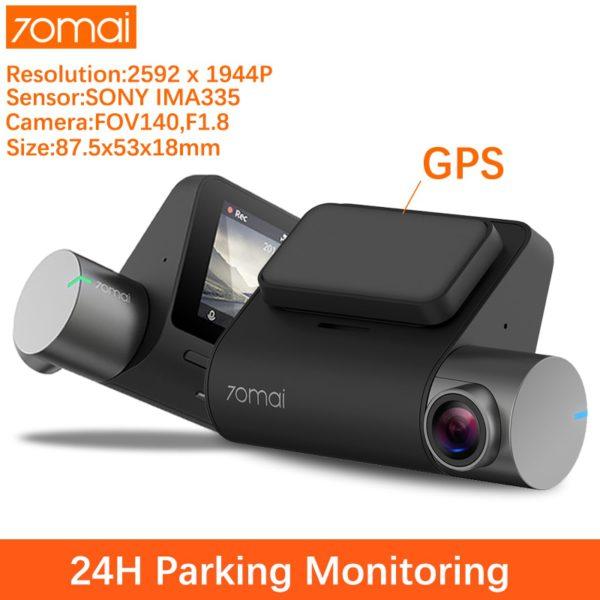 70mai Pro Auto Dash Cam 1944P ADAS Car Dvr Dash Camera 70 mai Dashcam Voice Control 24H Parking Monitor Vehicle Video Recorder
