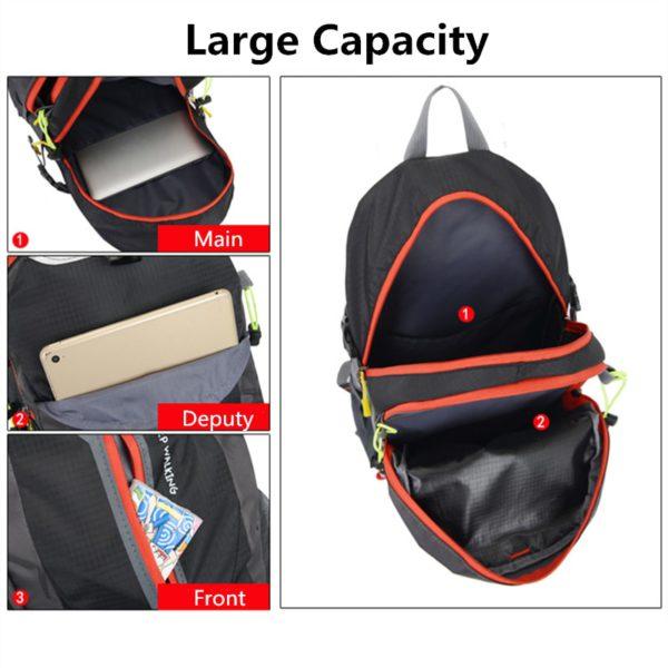 Travel Climbing Waterproof Backpacks Men 3