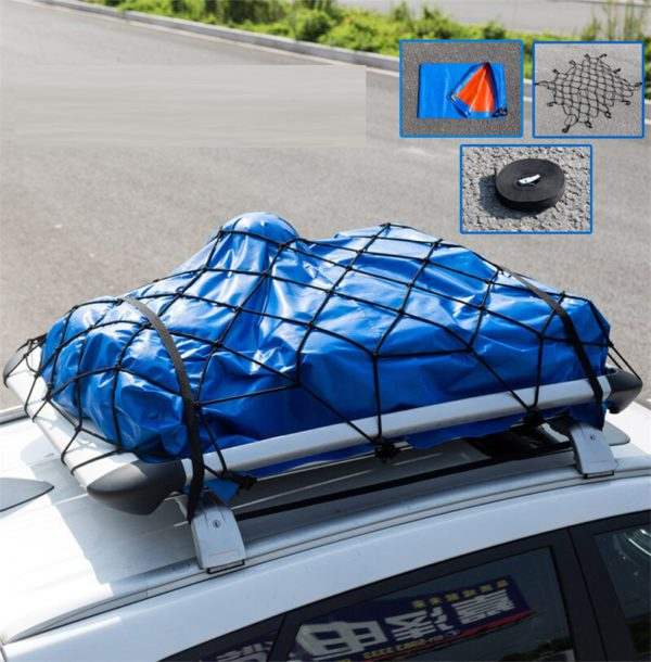 Car Roof Luggage Frame Aluminum 3
