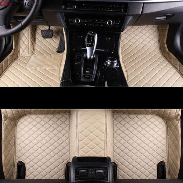 Car Believe car floor mat For hyundai veloster tucson 2019 accent 2008 sonata 2011 solaris 2011 elantra accessories carpet rugs