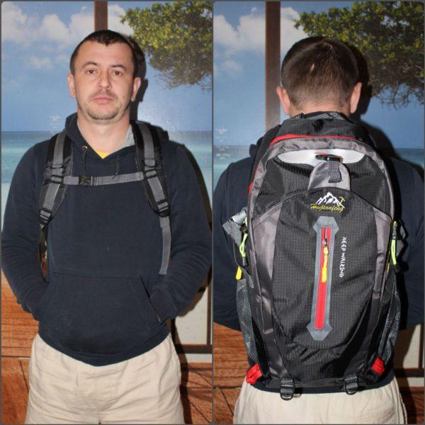 Travel Climbing Waterproof Backpacks Men 5