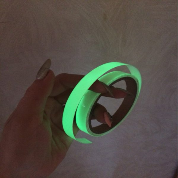 Luminous Tape 12MM 3M Self-adhesive Tape Night Vision Glow In Dark Safety Warning Security Stage Home Decoration Tapes 5