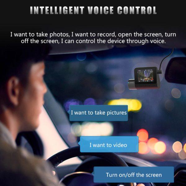 70mai Dash Cam Pro 1944P Speed Coordinates GPS ADAS 70mai Pro Car DVR WiFi 70 Mai Dash Camera Voice Control 24H Parking Monitor 4