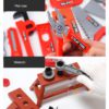 Kids Toolbox Kit Educational Toys Simulation Repair Tools Toys Drill Plastic Game Learning Engineering Puzzle Toys Gifts For Boy 3