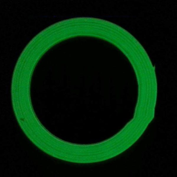 Luminous Tape 1.5cm*1m 12MM 3M Self-adhesive Tape Night Vision Glow In Dark Safety Warning Security Stage Home Decoration Tapes 1