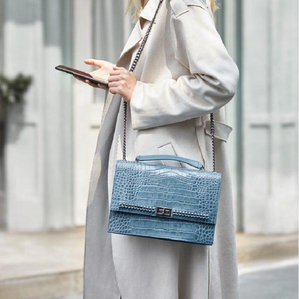 ZOOLER Luxury Brand Designer Genuine Leather Bags for women 2020 Cow Leather Woman Shoulder Bags Fashion Purses bolsa feminina 3