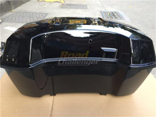 Motorcycle Rear Storage Box Tail Luggage 3