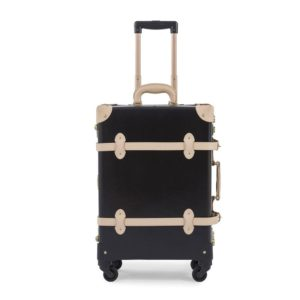 Jazz Black Pearl White contrunkage suitcase luggage travel trip