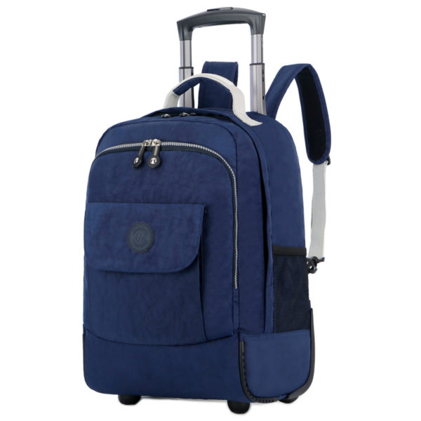 Rolling Luggage Travel Backpack Shoulder Spinner Backpacks