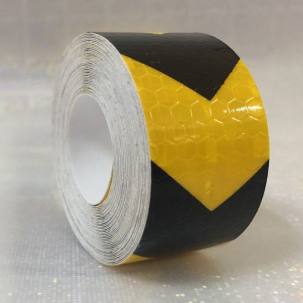 3M Safety Mark Reflective tape stickers car-styling Self Adhesive Warning Tape Automobiles Motorcycle Reflective Film 4