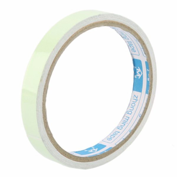 Luminous Tape 12MM 3M Self-adhesive Tape Night Vision Glow In Dark Safety Warning Security Stage Home Decoration Tapes 4