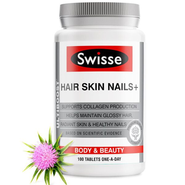 Australia Swisse Hair Skin Nails Collagen Tablets 5
