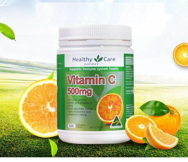 Australia Healthy Care Vitamin C 500mg 1