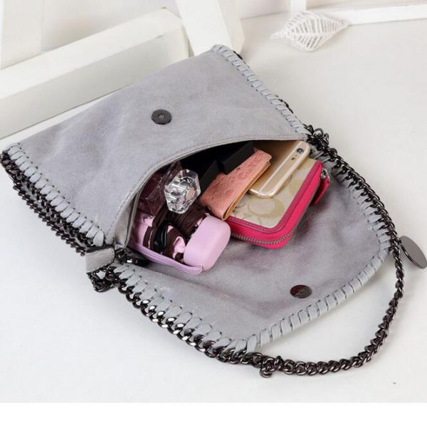 062317 new fashion women chains single shoulder cross body bag small bag day clutches bag 3
