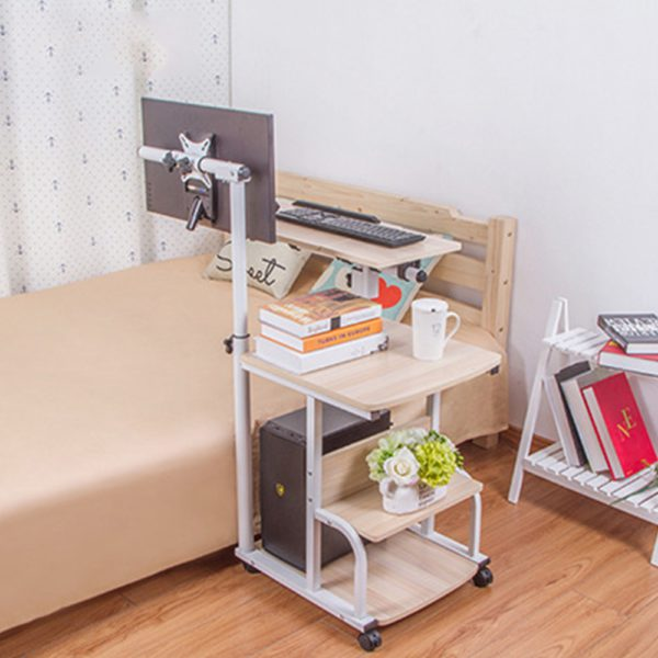 Large size Desktop  computer Table Adjustable Portable Laptop Desk Rotate Laptop Bed Table Can be Lifted Standing Desk 4
