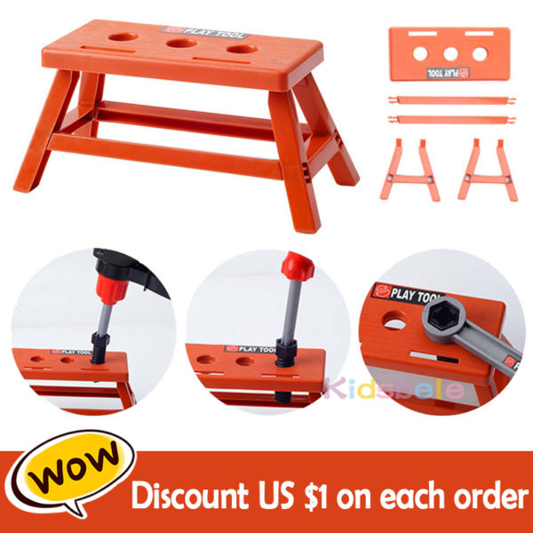 Kids Toolbox Kit Educational Toys Simulation Repair Tools Toys Drill Plastic Game Learning Engineering Puzzle Toys Gifts For Boy 1