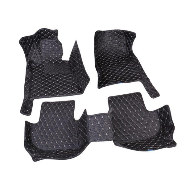 Car Believe car floor mat For hyundai veloster tucson 2019 accent 2008 sonata 2011 solaris 2011 elantra accessories carpet rugs 1