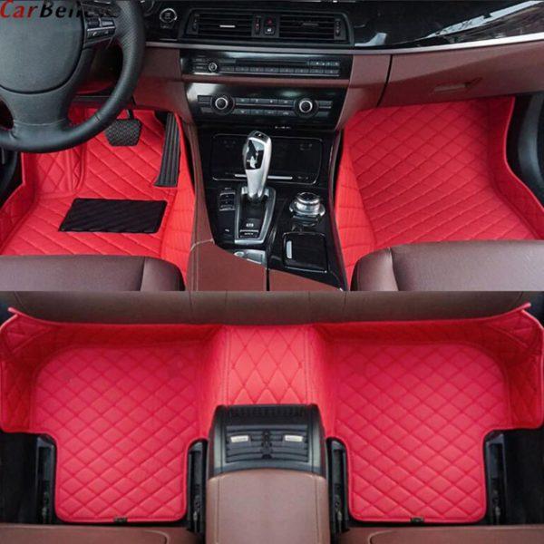 Car Believe car floor mat For hyundai veloster tucson 2019 accent 2008 sonata 2011 solaris 2011 elantra accessories carpet rugs 3