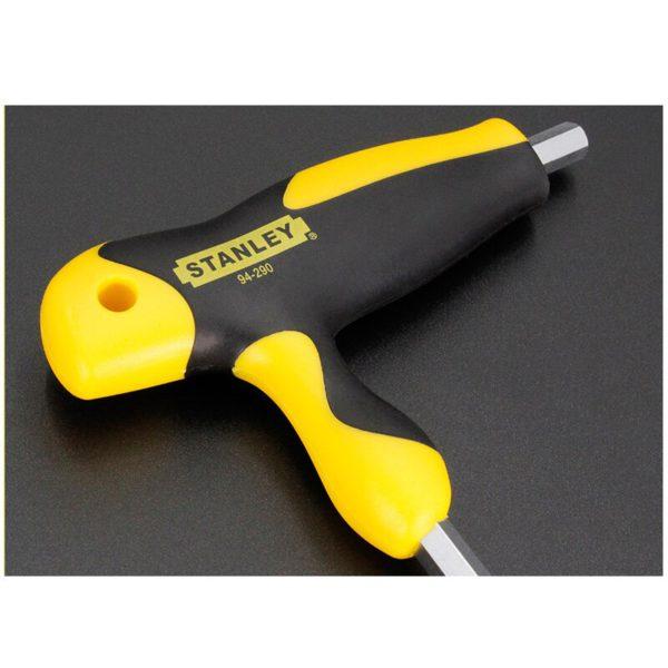 Stanley comfortable T-handle allen wrench 2mm/2.5mm/3mm/4mm/5mm/6mm/7mm/8mm/10mm T shape hexagon wrenches  t hex keys S2 steel 1