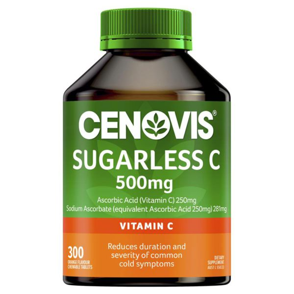 Australia Cenovis Sugarless Vitamin C 500mg 300Tablets 5