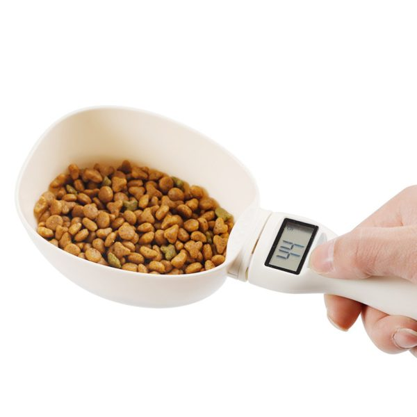 800g/1g Pet Food Scale Cup For Dog Cat Feeding Bowl Kitchen Scale Spoon Measuring Scoop Cup Portable With Led Display 1