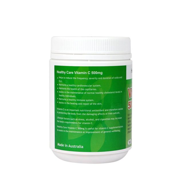 Australia Healthy Care Vitamin C 500mg 4