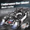 cada 1589PCS RC/non-RC Endurance racing Car Building Blocks For Technic MOC Model Remote Control vehicle Toys for kids 1