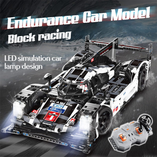 cada 1589PCS RC/non-RC Endurance racing Car Building Blocks For Technic MOC Model Remote Control vehicle Toys for kids 1