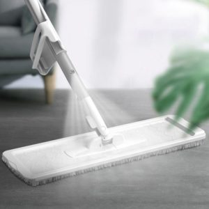 NEW 2 in 1 Spray Mop Free Hand Washing Flat Mop Lazy 360 Rotating Magic Mop With Squeezing Floor Cleaner Household Cleaning Tool