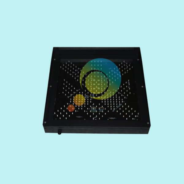 Easy installation high way toll station 600mm red green led traffic light for promotion 3