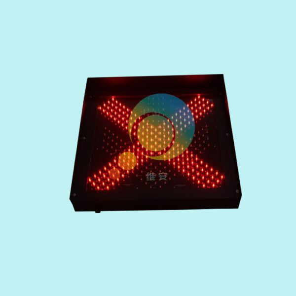 Easy installation high way toll station 600mm red green led traffic light for promotion 5