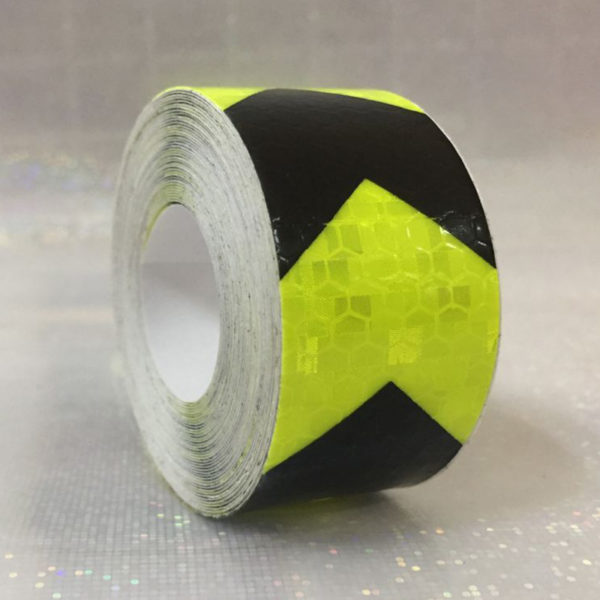 3M Safety Mark Reflective tape stickers car-styling Self Adhesive Warning Tape Automobiles Motorcycle Reflective Film 3