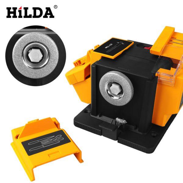 HILDA 96W 3in1 Multifunction sharpener Household Grinding Tool sharpener drill for knife Twist drill HSS drill scissor chisel 1