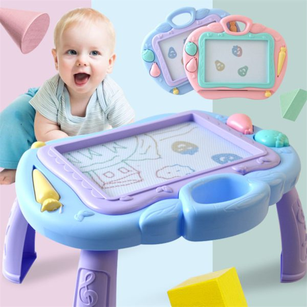 Multi-Function Big Size Magnetic Drawing Board Desk Toys Painting Doodle Games For Children Girls Educational Writing Table Toy