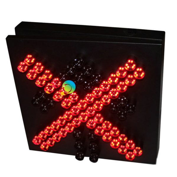 Factory price High way toll station traffic guidance light 400mm stop go red green traffic light 4