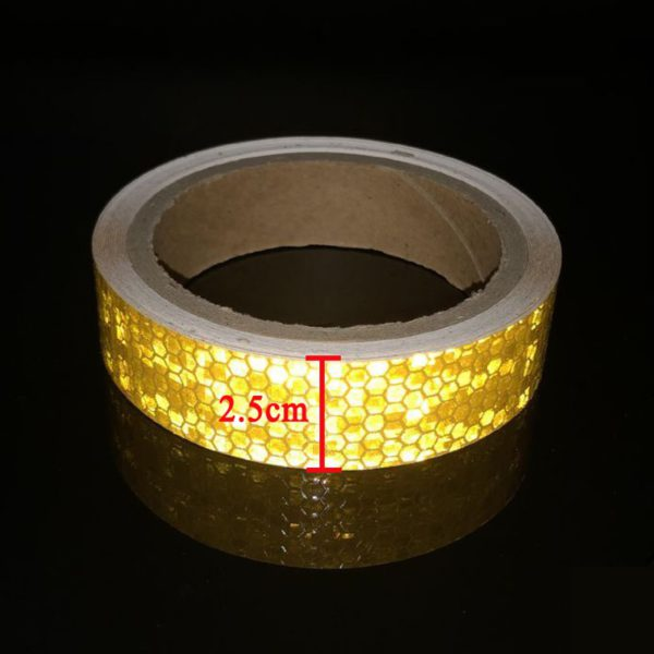 3M Bike Stickers Decals Reflective Stickers Strip Bicycle Reflective Tape Sticker Bicycle Wheel Bike Bicycle Accessories 1