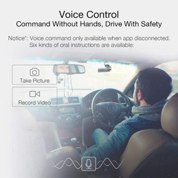 70mai Dash Cam Car DVR Wifi APP Voice Control 70 Mai Dash Cam 1S FHD 1080P Night Vision Car Camera Auto Video Recorder G-sensor 2