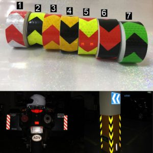 3M Safety Mark Reflective tape stickers car-styling Self Adhesive Warning Tape Automobiles Motorcycle Reflective Film