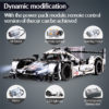 cada 1589PCS RC/non-RC Endurance racing Car Building Blocks For Technic MOC Model Remote Control vehicle Toys for kids 3
