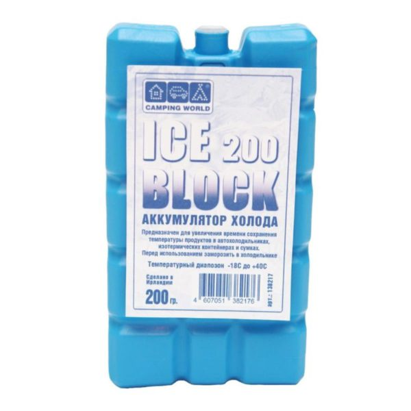 Cold battery Camping World Iceblock 200 (weight 200g) (138217) Camping World